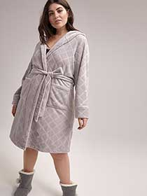 Bathrobe with Belt and Hood - ti Voglio