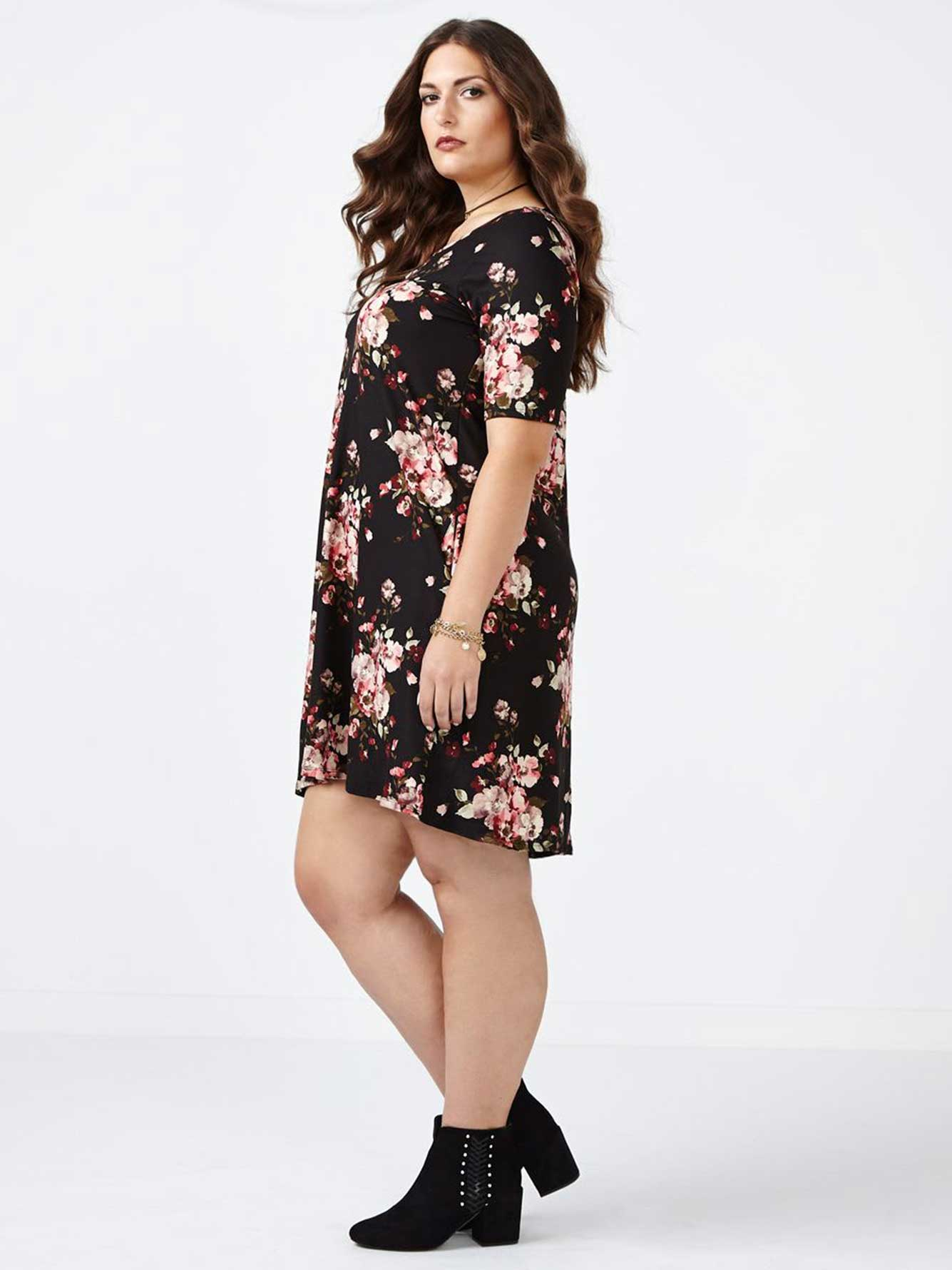 ONLINE ONLY Swing Floral Dress
