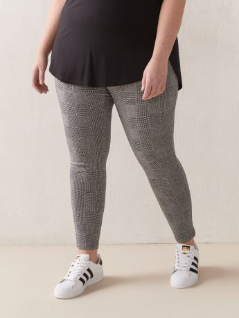 Leggings tendance en tricot jacquard - Addition Elle