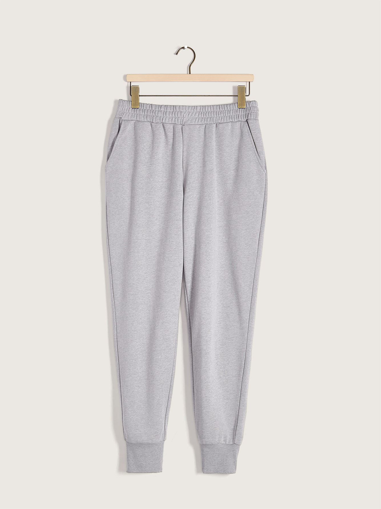 French Terry Sweatpants with Pockets - Addition Elle