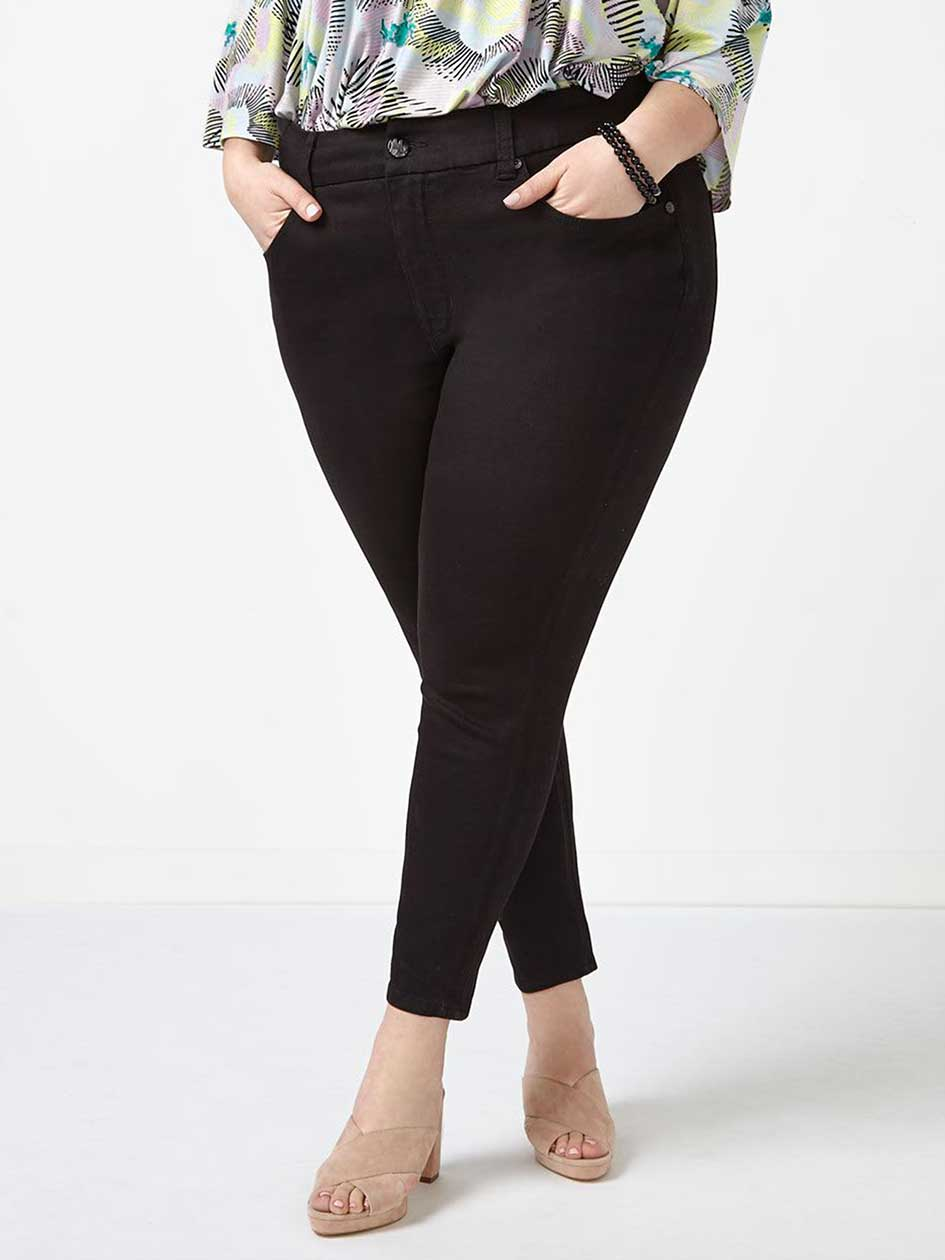 MELISSA McCARTHY Black Pencil Jean