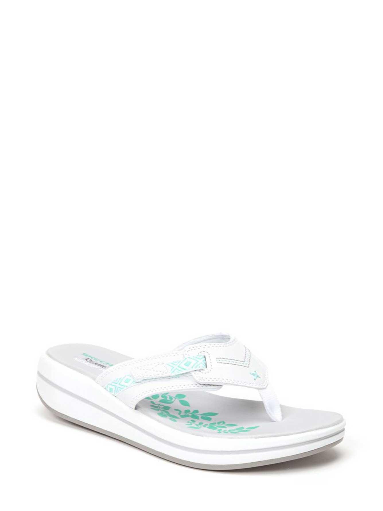 ebfdc81560e4 Skechers Wide-Width Flip Flop Sandals