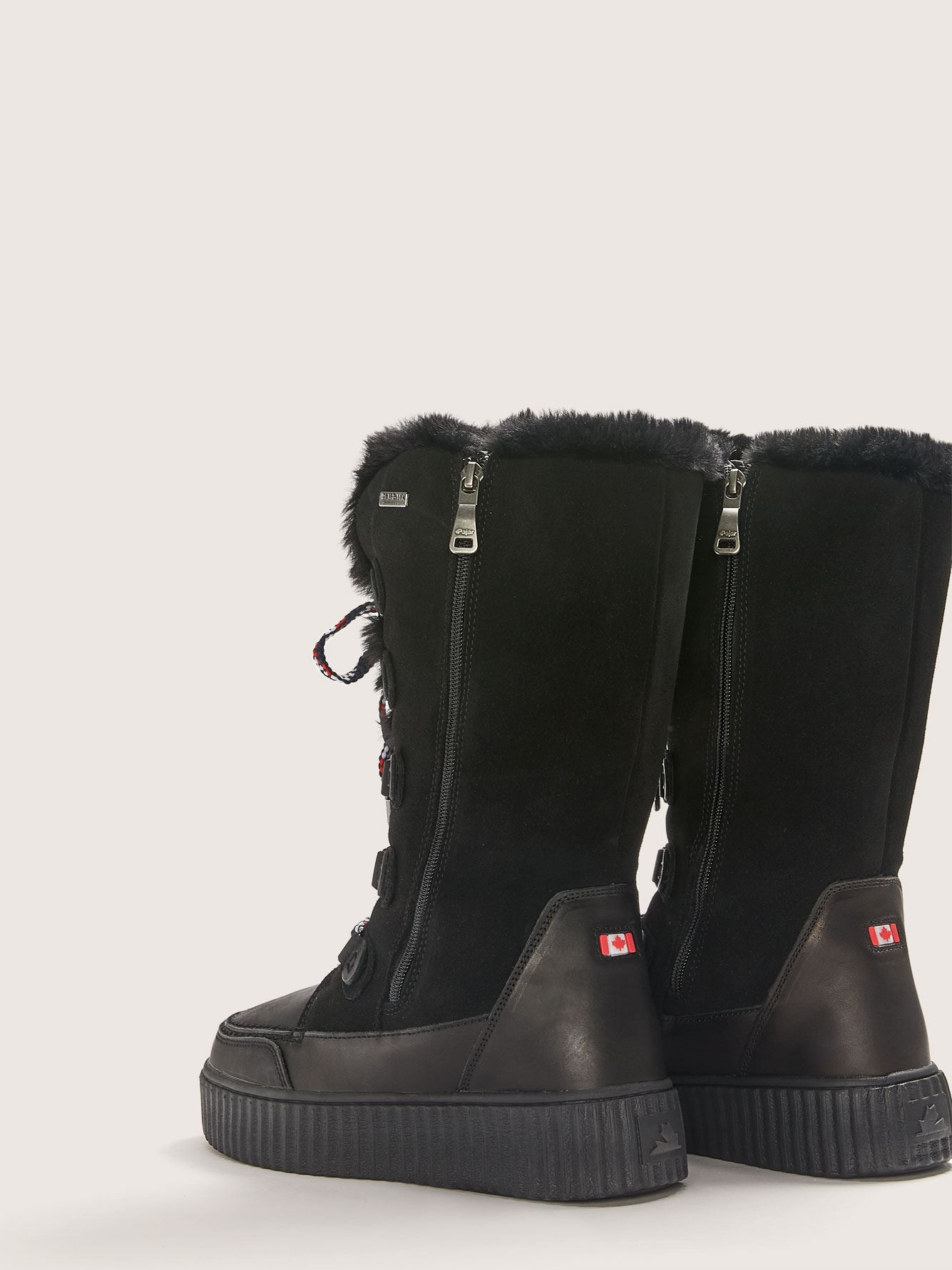 Wide Caitlyn Lace-Up Winter Boot - Pajar