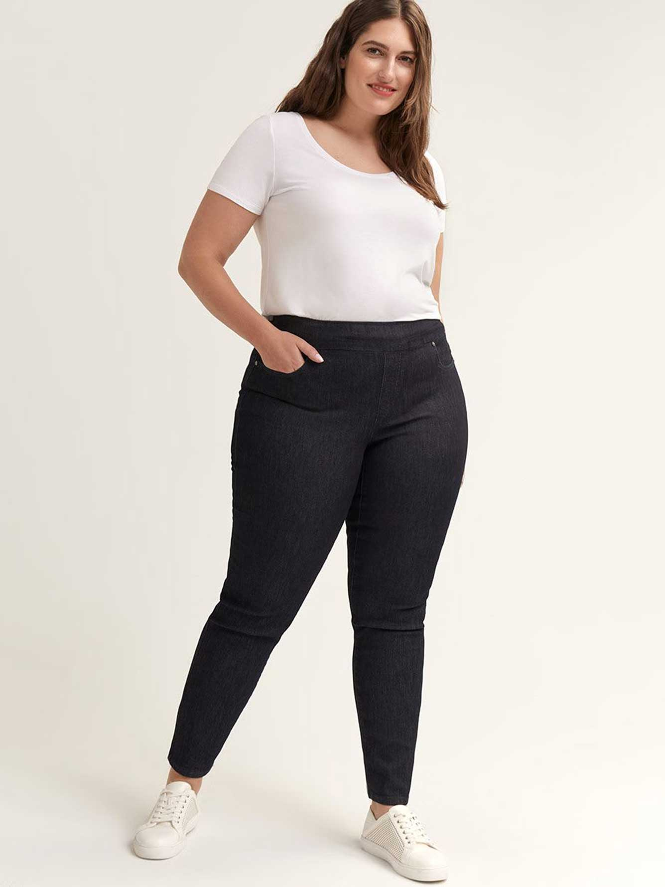 Savvy Straight Leg Denim Pant