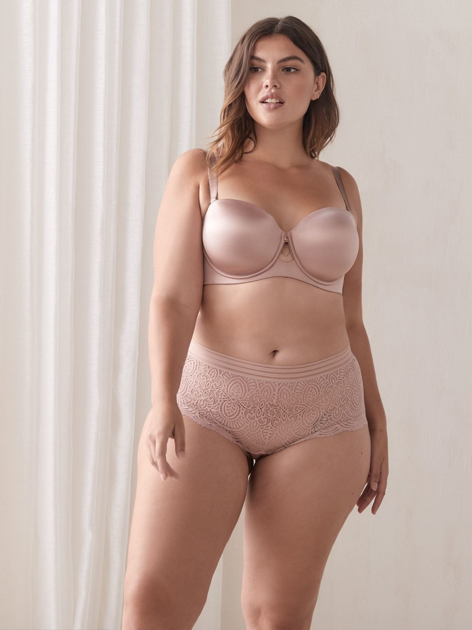 Boyshort Lace Panty - Ashley Graham