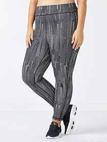 Essentials - Plus-Size Reversible 7/8 Legging