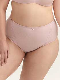 Jacquard Brief Panty with Lace - ti Voglio