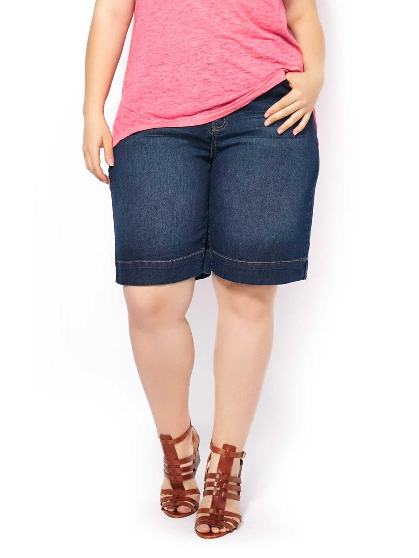 Curvy Fit Leg Denim ShortPenningtons Jeans Dc Straight 80nNmw