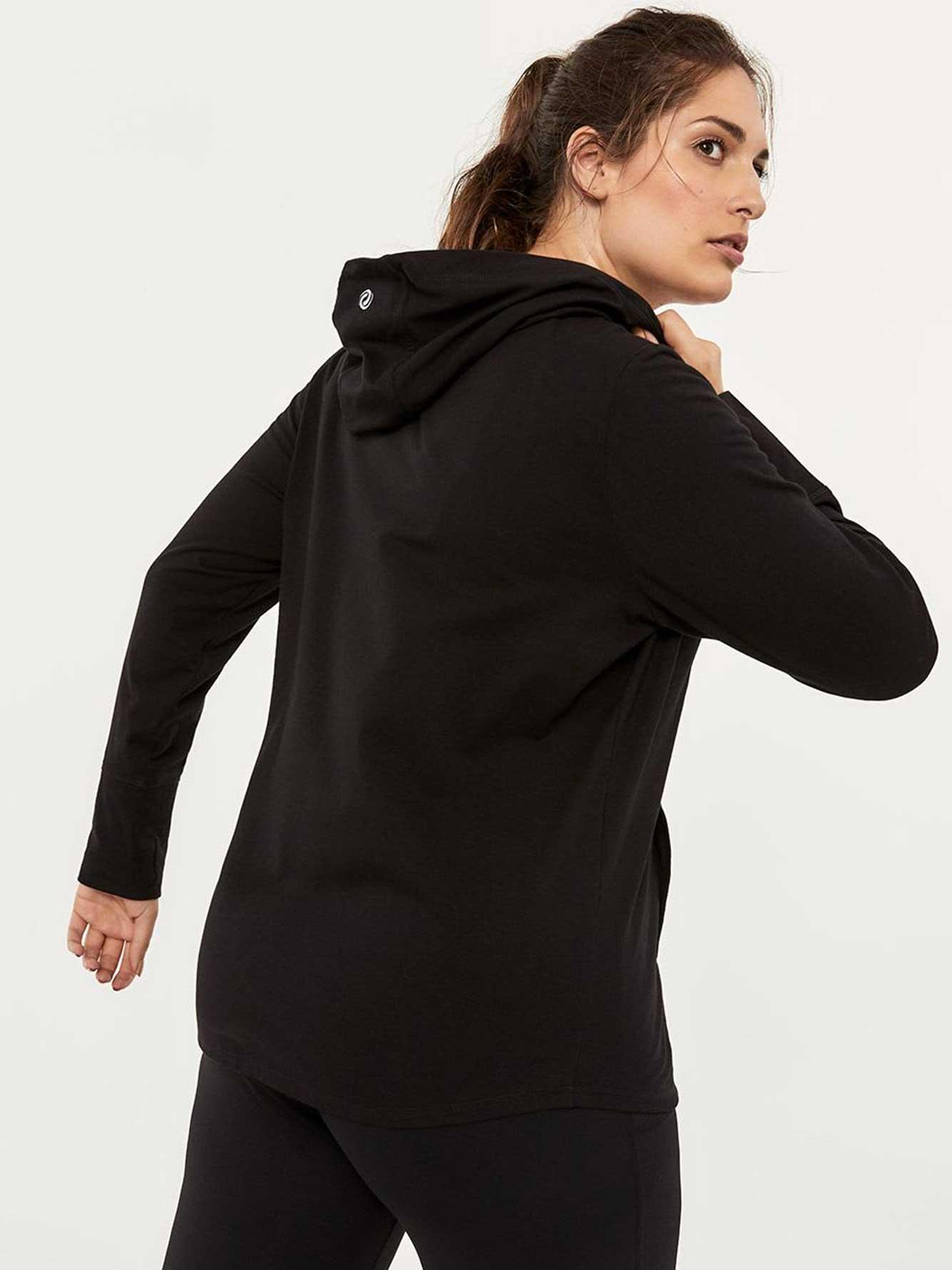 48ab83ed57786 Plus-Size Hooded Jacket - ActiveZone