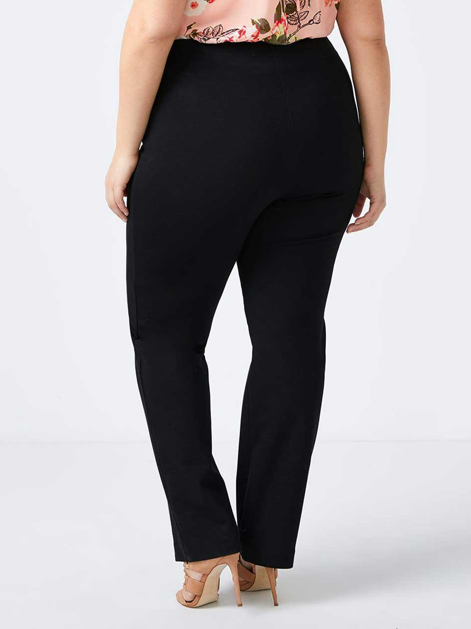 Savvy Sculpting Ponte de Roma Straight Leg Pant - In Every Story