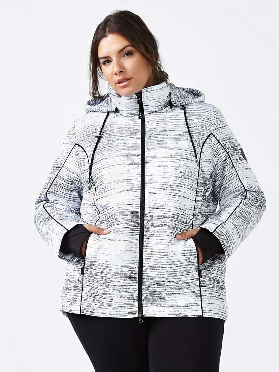 ActiveZone 3 in 1 Printed Winter Ski Jacket