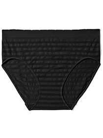 Seamless Brief Panty with Stripes - ti Voglio
