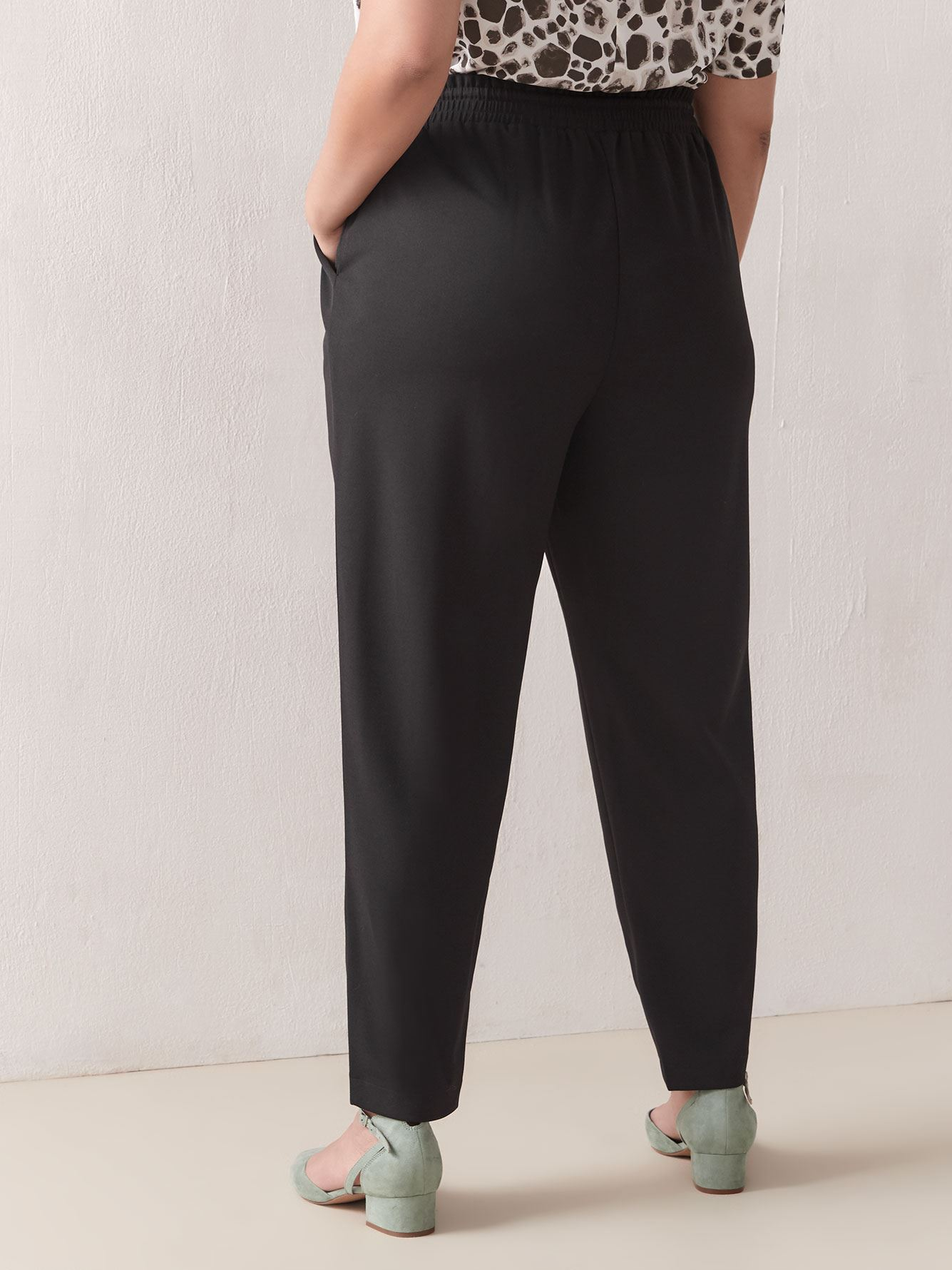 Pull-On Jogger Pants - Addition Elle