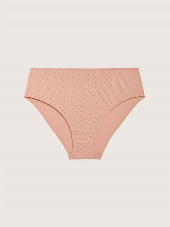 Cotton Polka Dot High Cut Panty - ti Voglio