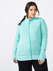 Plus-Size Basic Jacket - Essentials