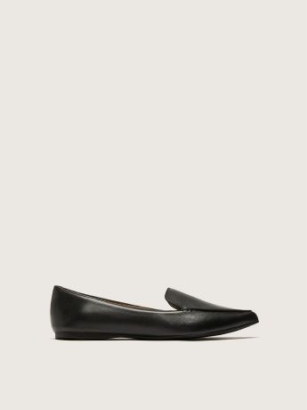 Wide Width Pointed Toe Feather Loafer - Steve Madden
