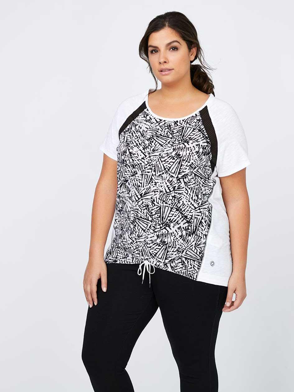 Plus-Size Printed T-Shirt - ActiveZone