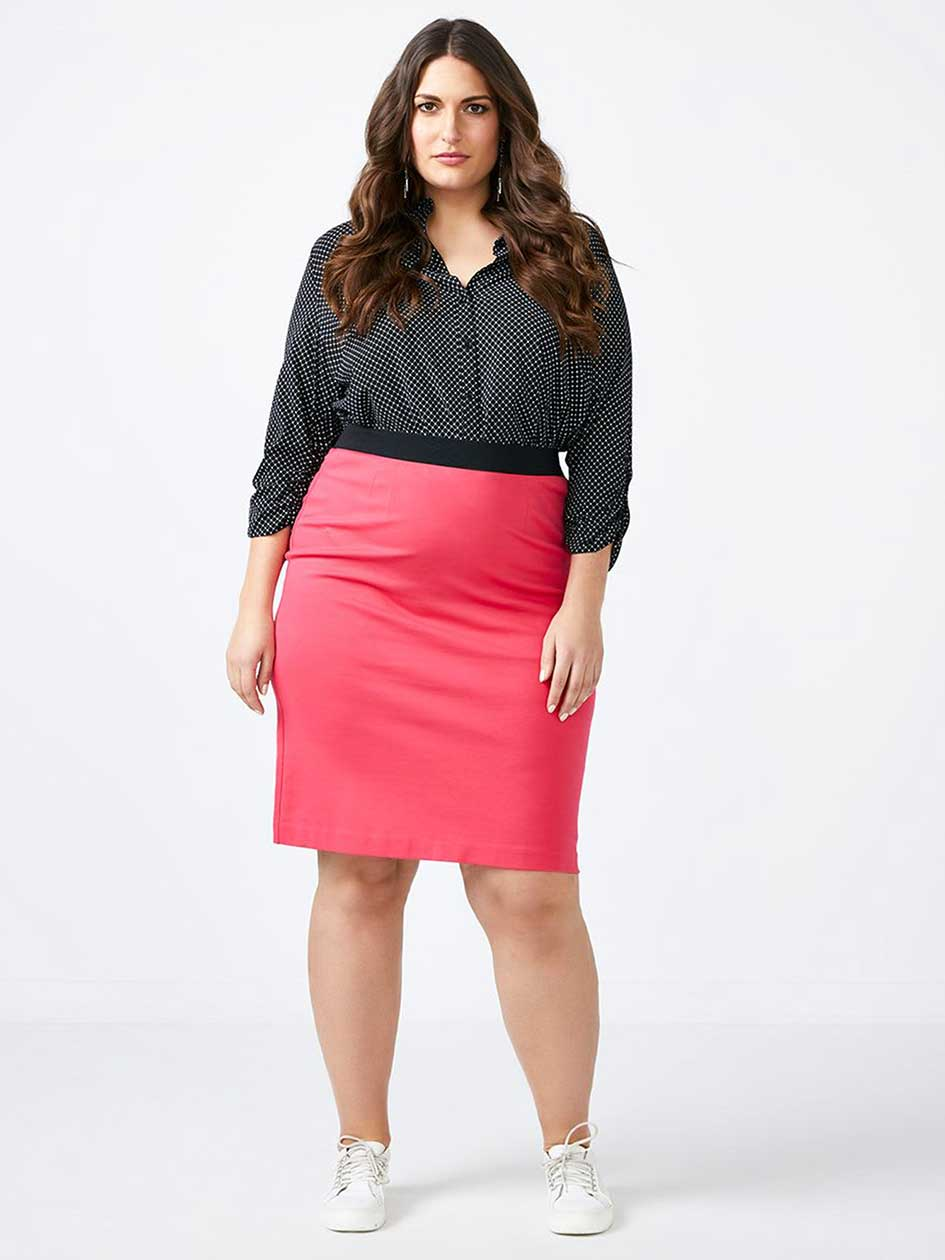Knit Pencil Skirt - In Every Story