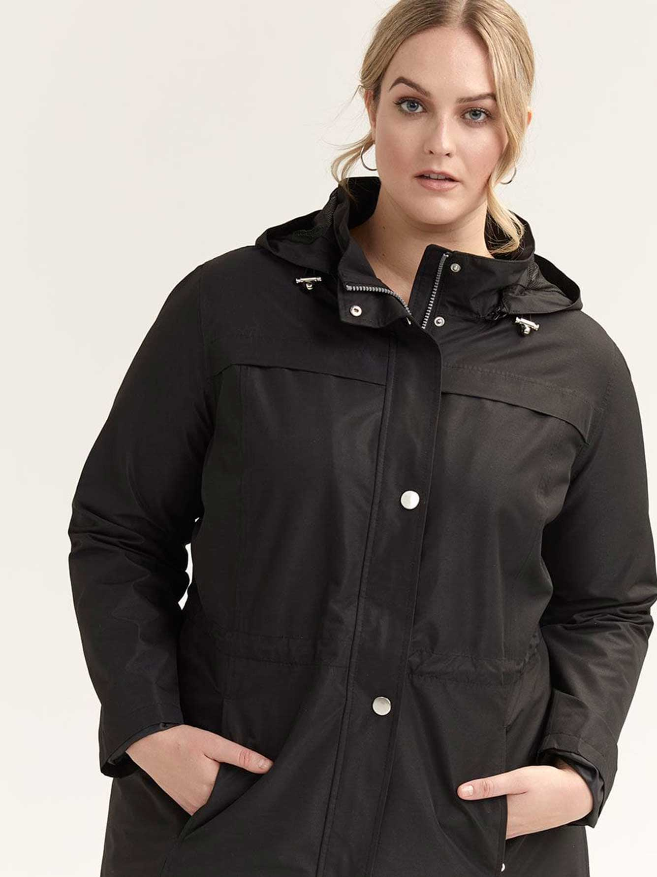 Mid-Length Rain Coat - d/C JEANS