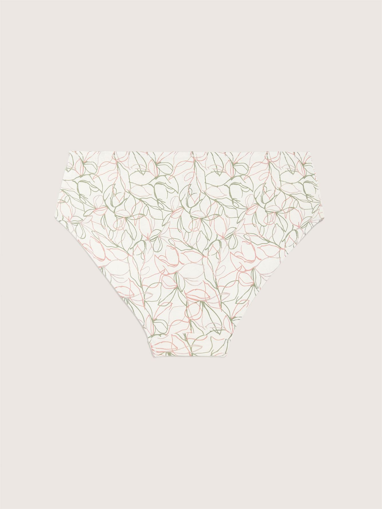 Printed High Cut Brief Panty - ti Voglio