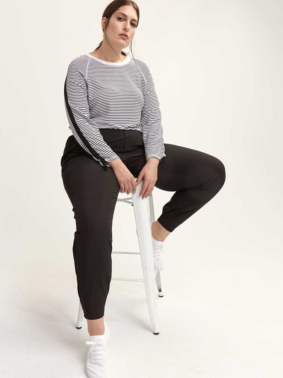 Tall - Jogger Pant with Side Ribbing - ActiveZone