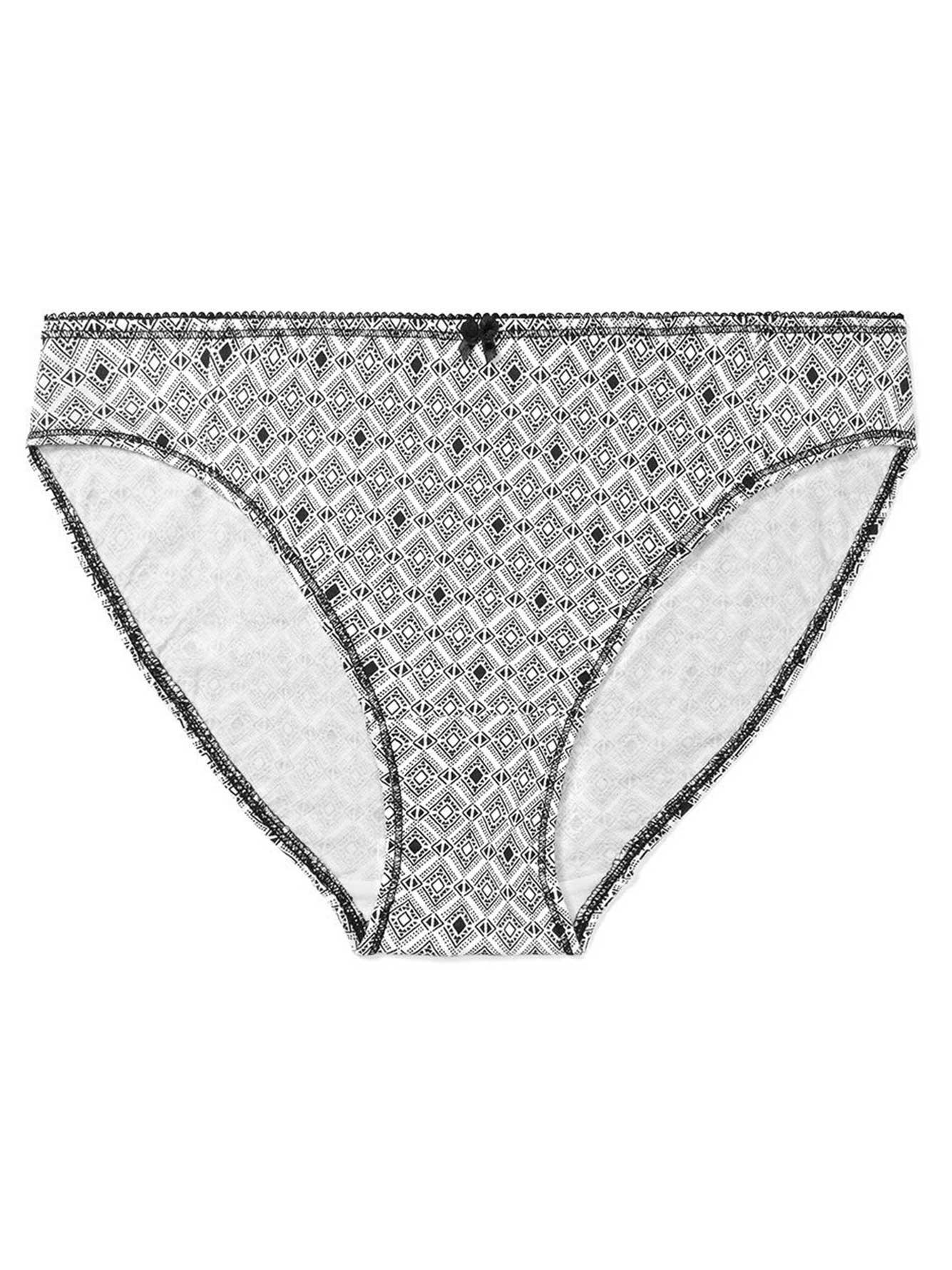 0b6bc2a494aa0 Ti Voglio Printed Cotton Bikini Panty