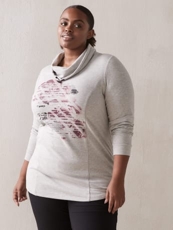 Pullover with Print - ActiveZone