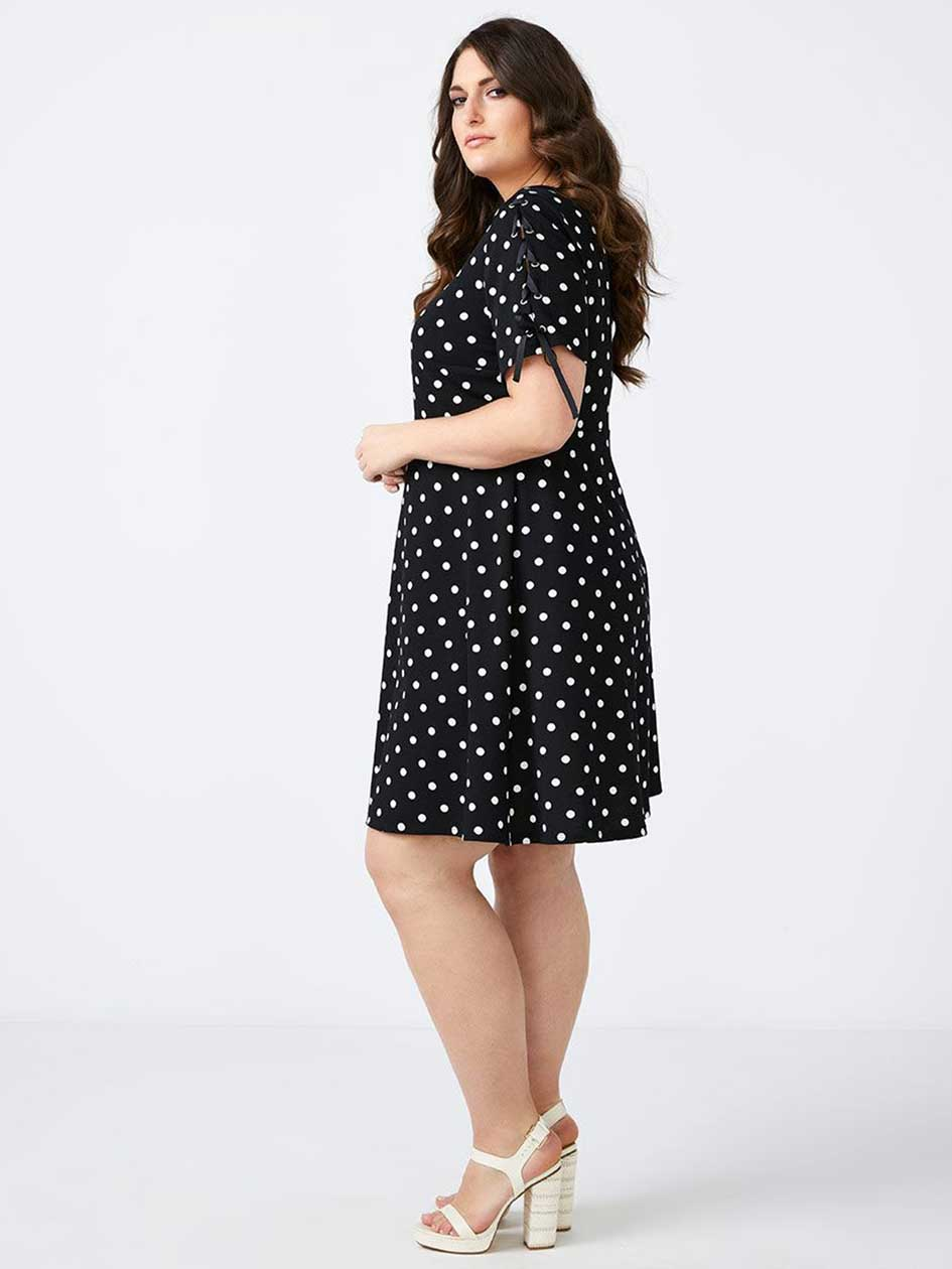 Printed Fit & Flare Dress - In Every Story