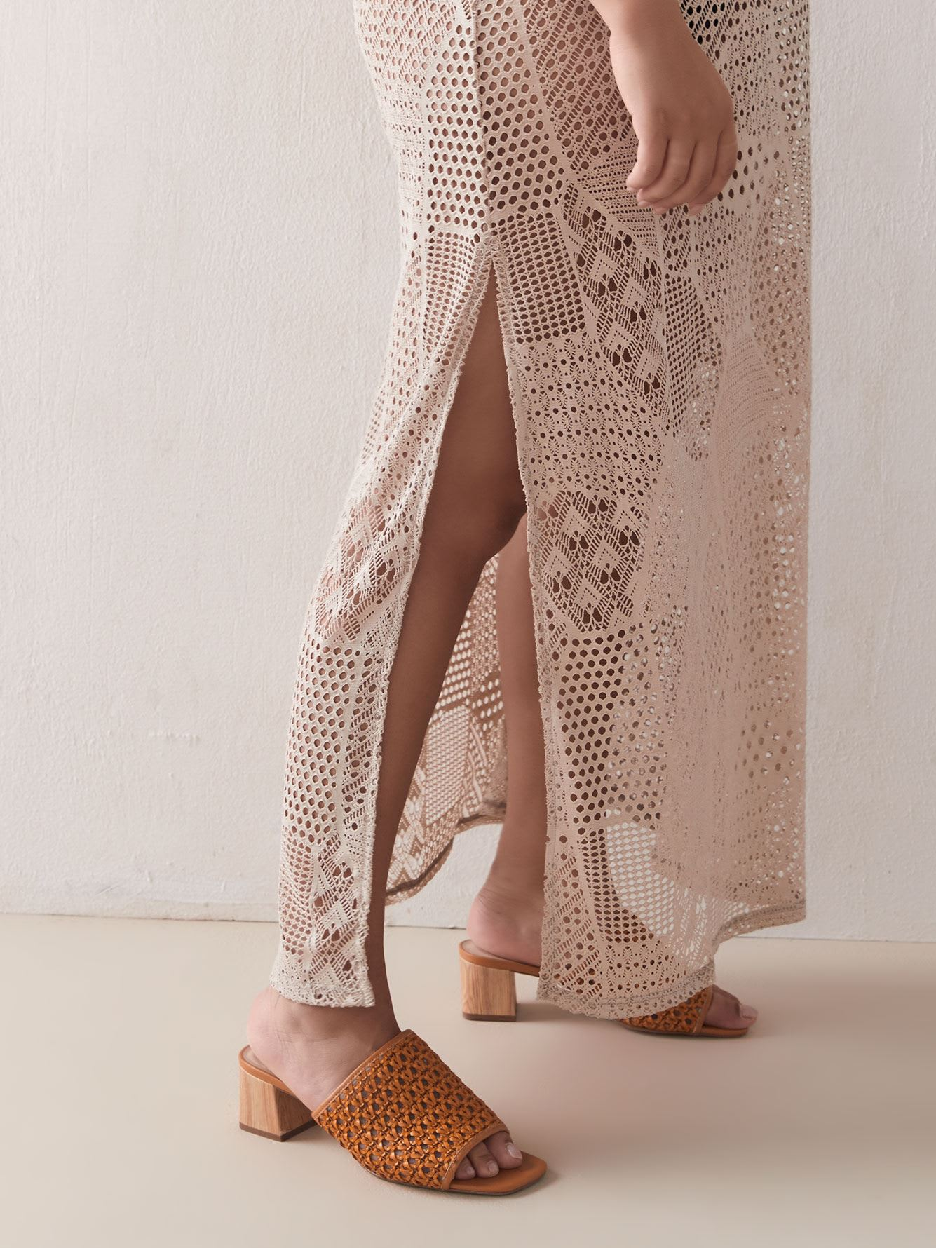 Sandy Bay Crochet Maxi Dress - Cover Me