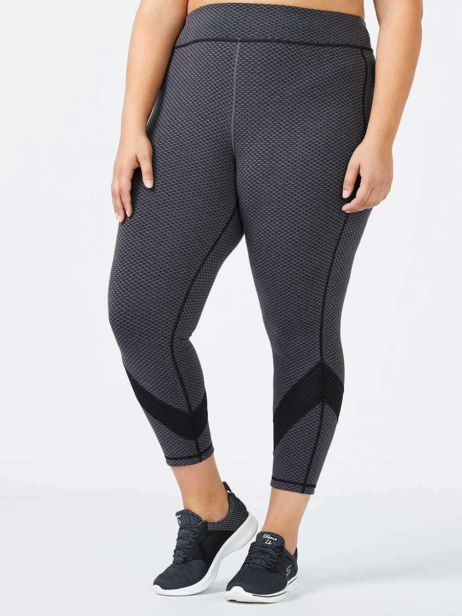 Essentials - Reversible Plus-Size 7/8 Legging