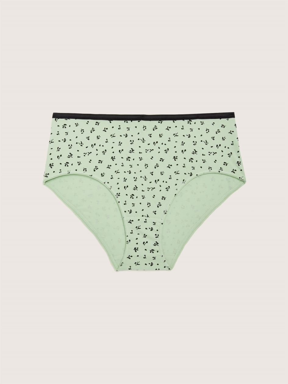 Printed Brief Panty - Addition Elle