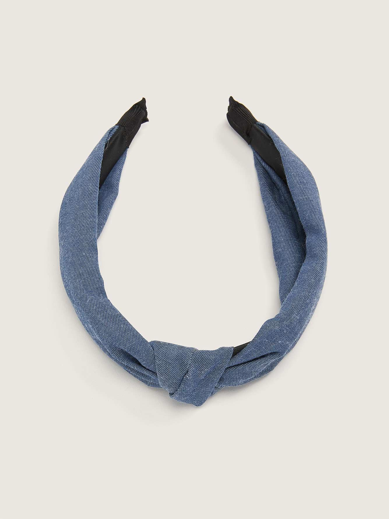 Denim Knotted Headband - In Every Story