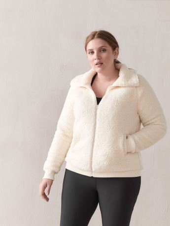 Sherpa Fleece Jacket - ActiveZone