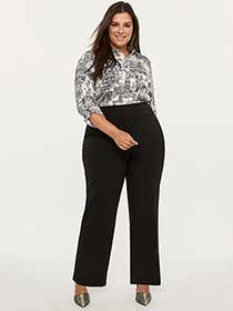 Savvy Universal Fit Wide Leg Pull-On Pant - In Every Story