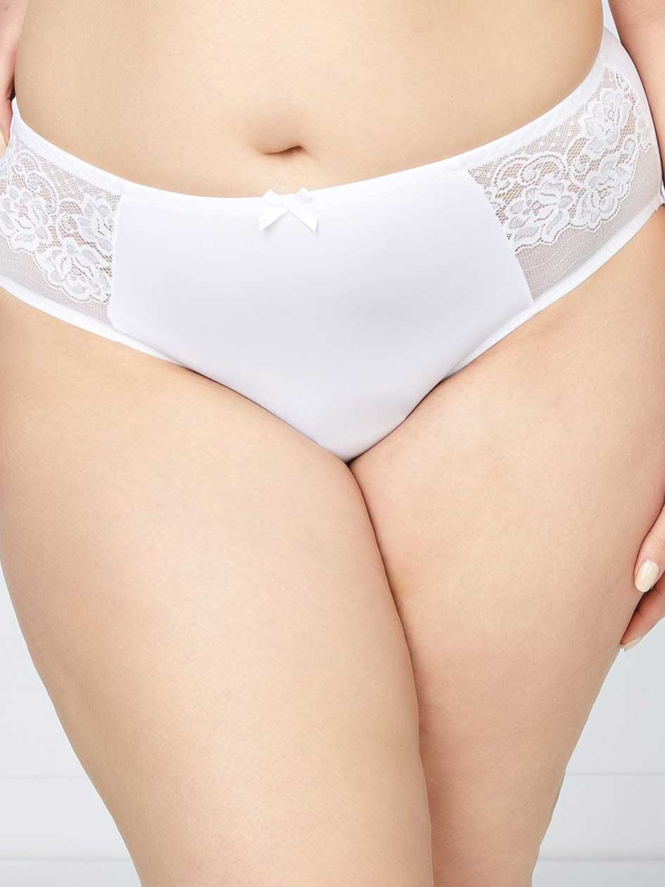 Hipster Panty with Lace - ti Voglio