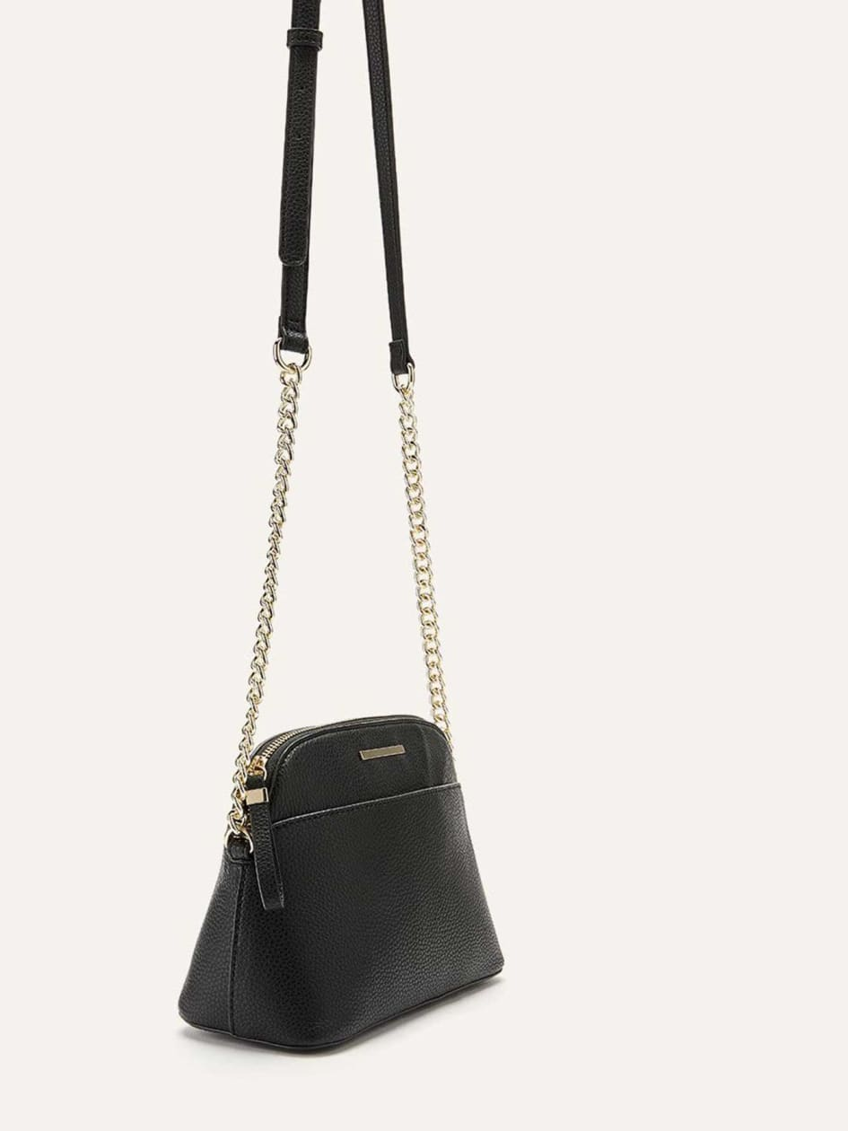 Solid Dome Crossbody Bag - Addition Elle