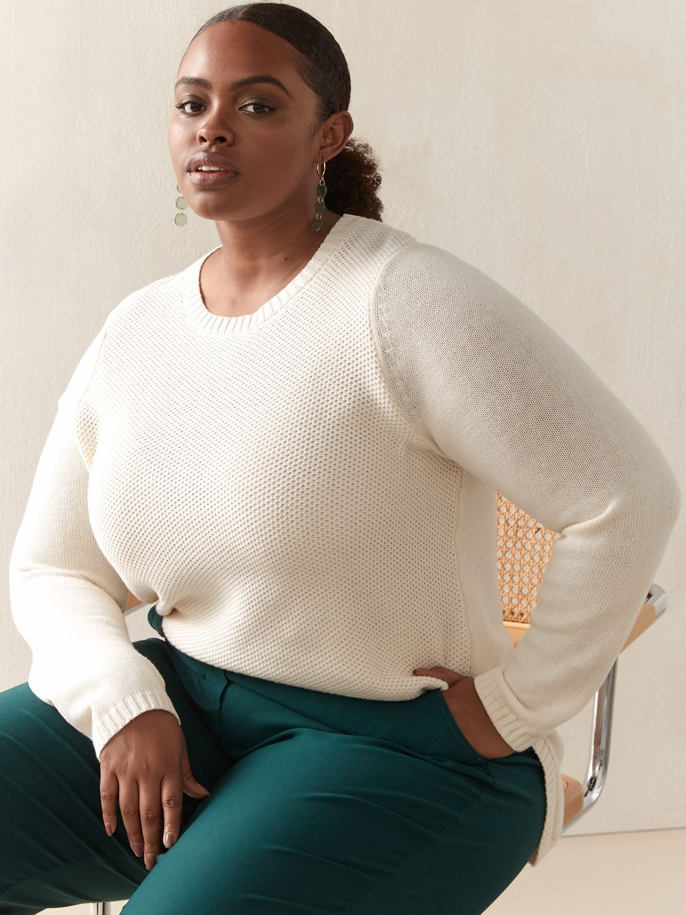 Ribbed Hem Sweater - In Every Story