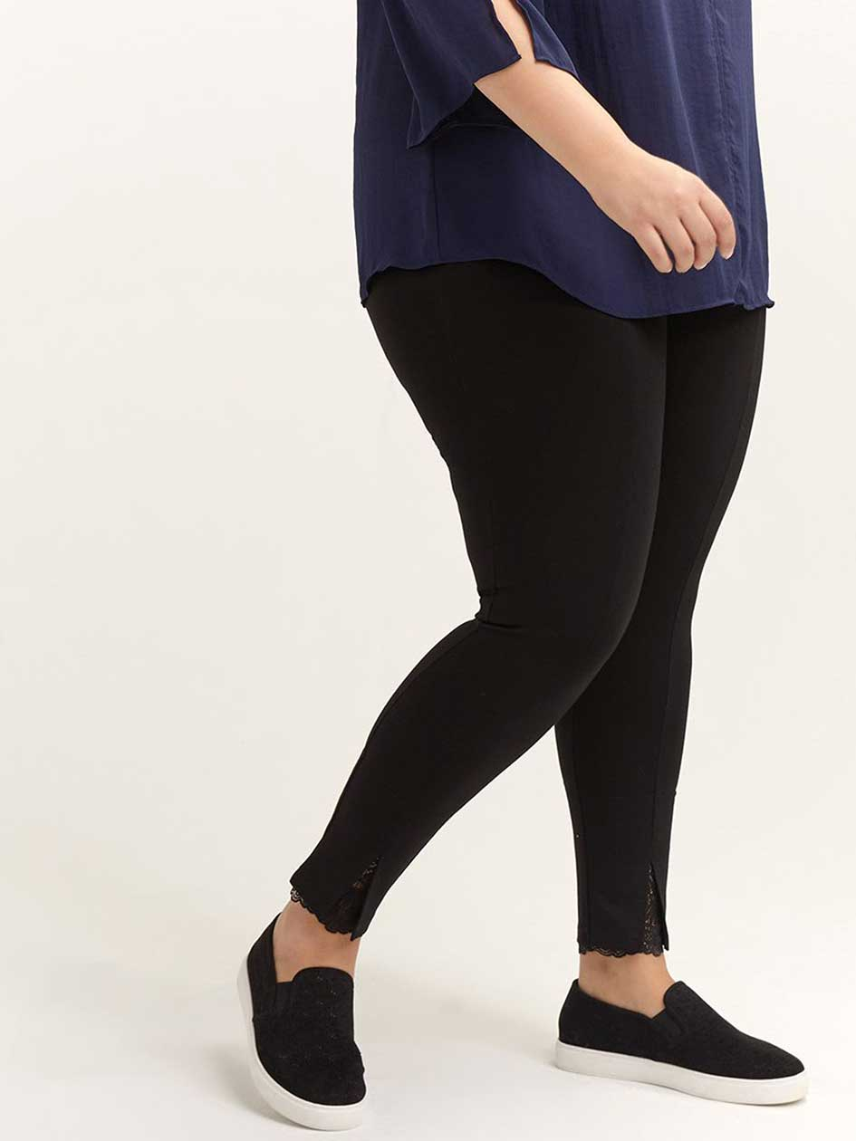 Legging with Lace Details