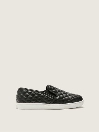 Wide-Width Ecentricq Quilted Slip-On Shoes - Steve Madden