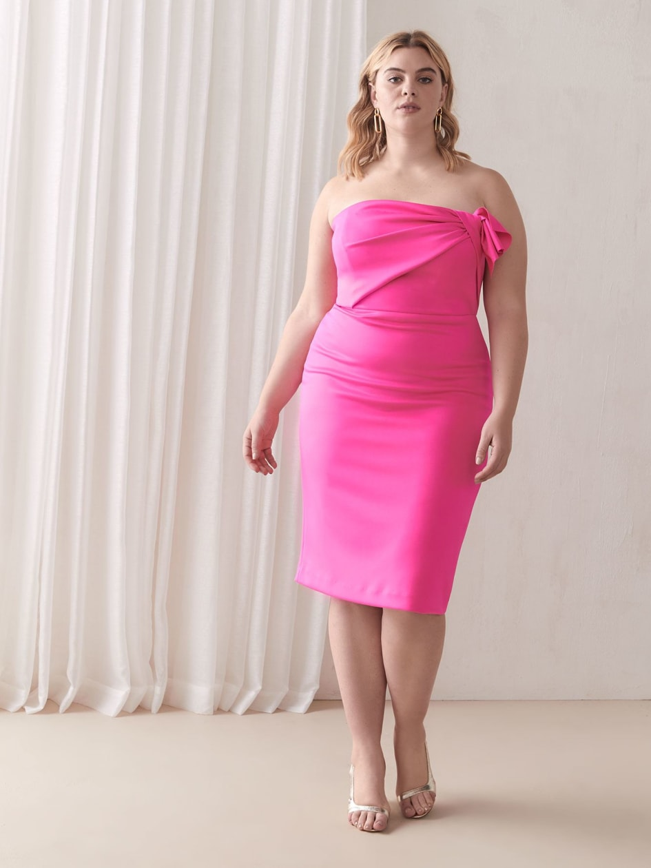 Divina Short Pink Gown - Black Halo