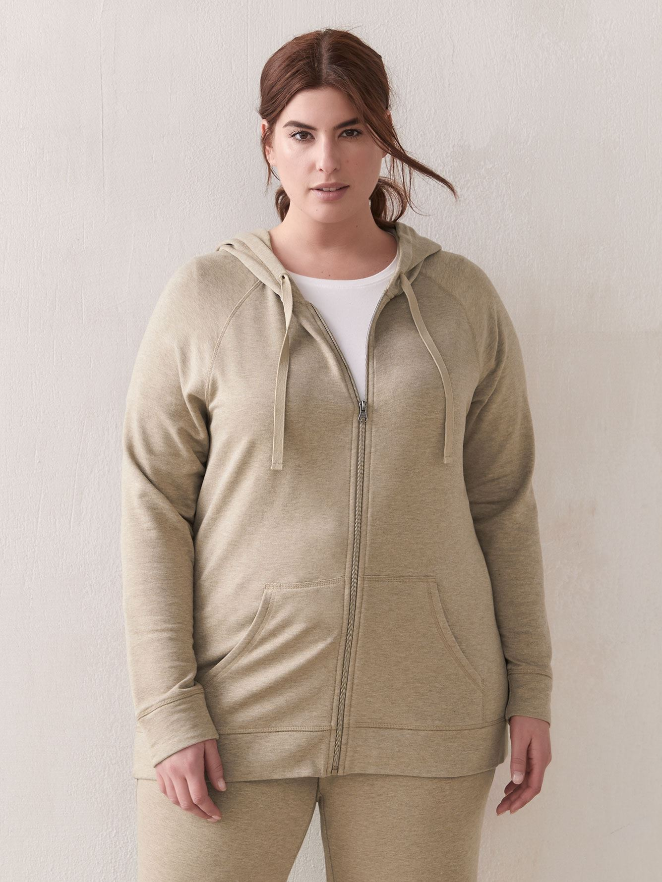 Essential Zip-Up Hoodie - ActiveZone