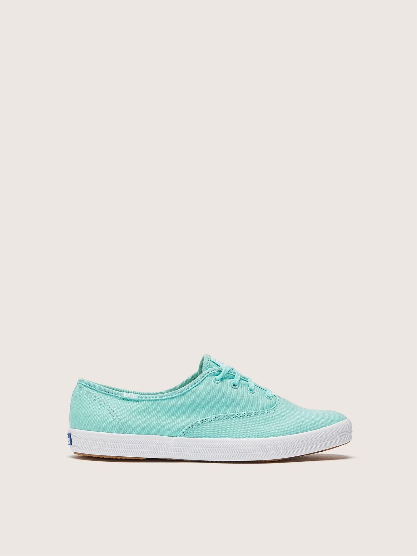 Wide Champion Oxford Canvas Shoe - Keds