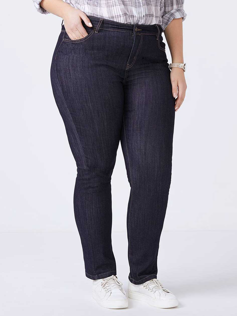 Slightly Curvy Fit Straight Leg Jean - d/c JEANS