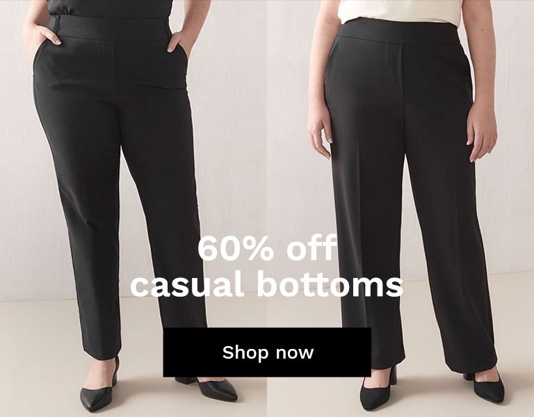 60% off casual bottoms