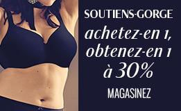 Soutiens-gorge 30%