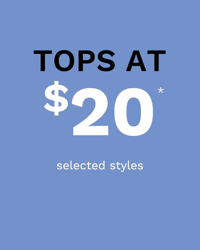 20$ Tops
