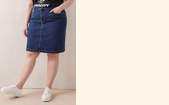 25% OFF Denim skirts