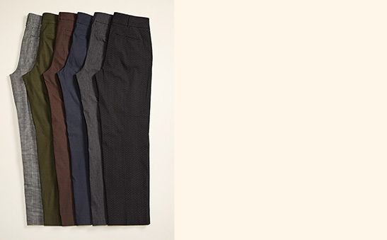 Pantalons ingénieux