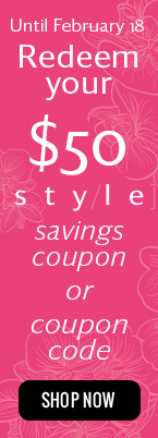 $50 style saving coupon