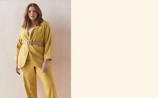 40% OFF Addition Elle linen suit